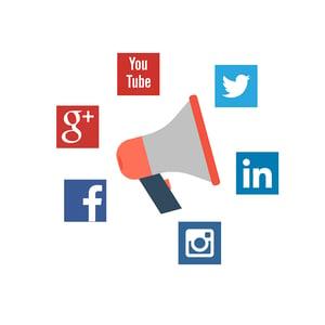 Campanhas em redes sociais